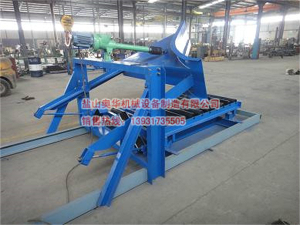 Unilateral electric plow unloader